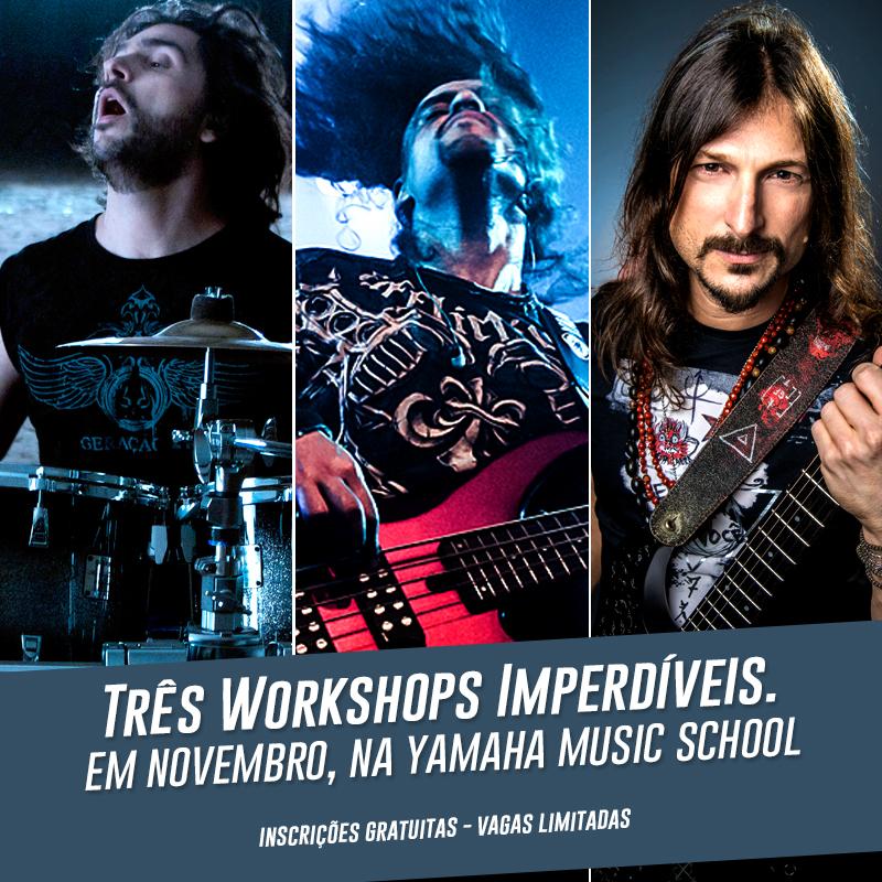 Workshops na Yamaha Music School