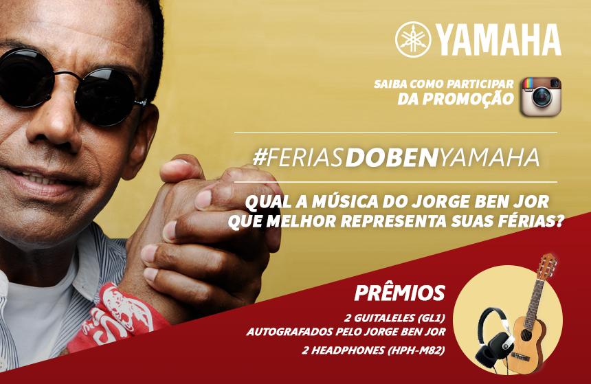 Promoção Instagram! #feriasdobenyamaha